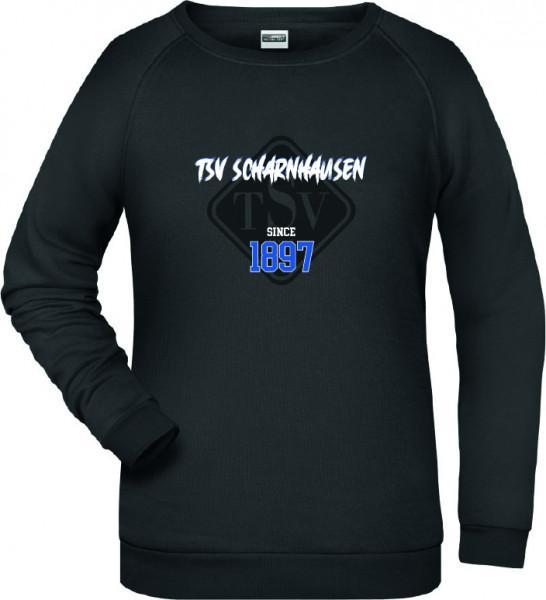 Damen Sweater schwarz inkl. Druck
